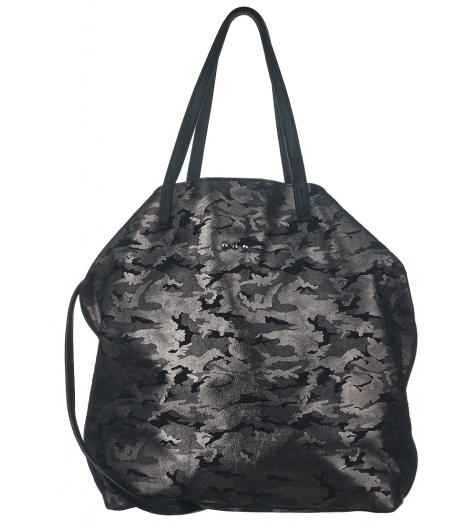Anna Camouflage Black