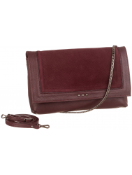 Julia Nubuck Burgundy