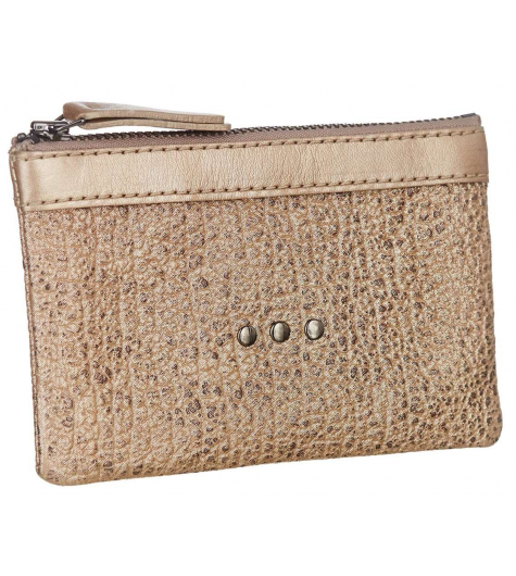 Coin Purse Buffalo Tan